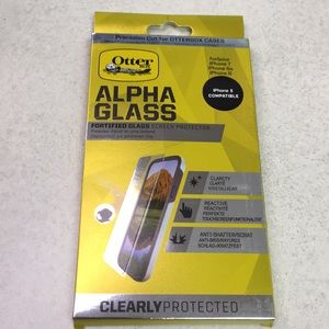 New - otter box fortified glass screen protector